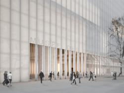 (c) David Chipperfield Architects - Entrée principale