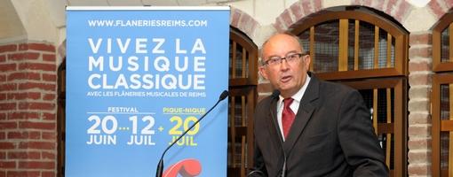 Jean Louis Henry Président ©Axel Coeuret pour les Flâneries
