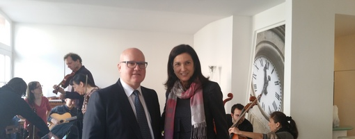 Didier Janot et Margareth Henriquez