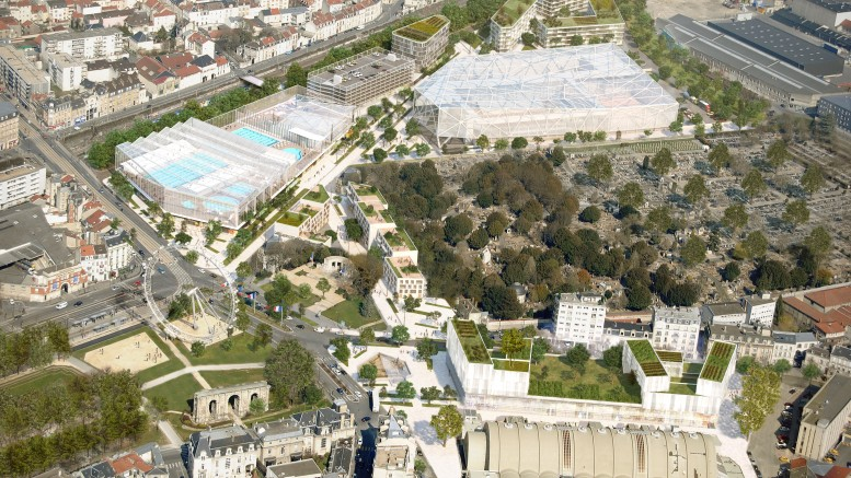 Reims un grand projet pour le centre ville refletsactuels for Piscine reims